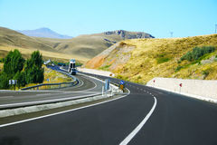 Mountain road in Turkey Stock Photography