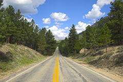 Mountain Roads Stock Photo