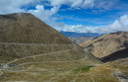 Mountain roads in Ladakh, India Royalty Free Stock Image