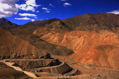 Mountain roads of Leh Stock Photos