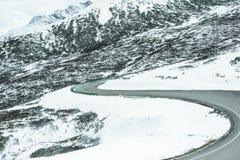 Mountain roads Stock Photography