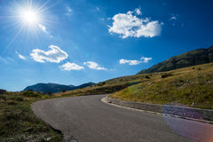 Mountain Roadway Royalty Free Stock Photography