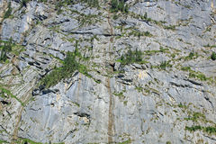 Mountain rock background. Mountain side. Mountain rock in the Swiss alps. Can be used as a background royalty free stock photo