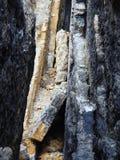 Mountain rock collapsing Stock Photo