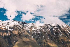 Mountain Rock Natural Background. The varied mountain landscape Stock Images