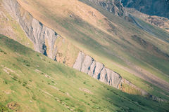 Mountain Rock Natural Background. The varied mountain landscape Royalty Free Stock Photography