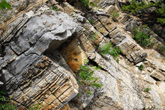 Mountain rock pattern Royalty Free Stock Image