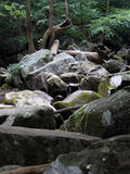 Mountain rocks. A grouping of large rocks and boulders stock photography