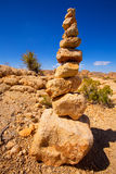 Mountain of rocks in Joshua tree National Park California Stock Image