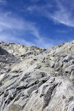 Mountain Rocks And White Clouds Royalty Free Stock Image