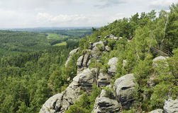 Mountain rocky scenic in summer. Stock Image