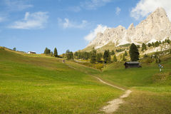 Pathway in Sudtirol Stock Photography