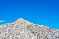 Mountain of rubble Royalty Free Stock Photography