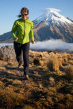 Mountain run Stock Image