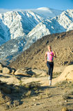 Mountain Runner Stock Photo