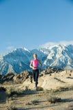 Mountain Runner Royalty Free Stock Image