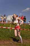 Mountain running challenge Royalty Free Stock Image