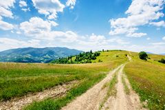 Free Mountain Rural Landscape In Summertime Stock Photography - 168238372