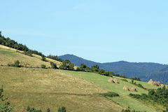 Mountain rural landscape Royalty Free Stock Image