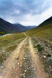 Mountain, rural road Stock Photos