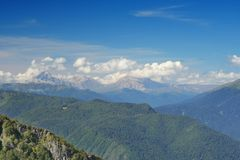 Mountain's landscape in Sochi Stock Photo