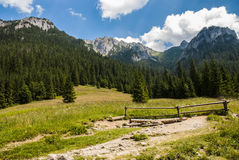 Mountain's landscape Royalty Free Stock Image