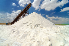 Mountain of Salt Royalty Free Stock Photos