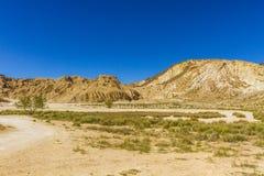 Salt stone mountain. The mountain of salt stone in Djelfa county, Algeria Stock Images