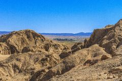 Salt stone mountain. The mountain of salt stone in Djelfa county, Algeria Stock Photography