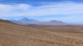 Mountain in San Pedro de Atacama, Chile Royalty Free Stock Photography