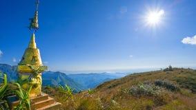 Mountain with sanctity. Chiangmai Thailand Stock Photography