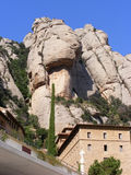 Mountain saw. Mountains saw Montserrat in Spain, close to Barcelona stock image