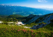 Mountain scape stock image