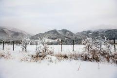 Mountain scenary to Takayama Stock Photography