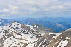 Mountain scence. This is a photo of landscape mountain in Switzerland Royalty Free Stock Photo