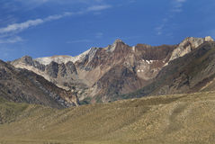 Mountain scene. A scenic shot of mountains Royalty Free Stock Photos