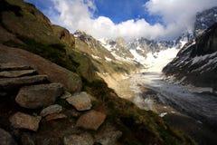 Mountain scene Royalty Free Stock Photos