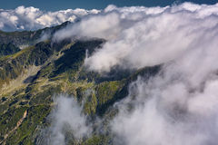Mountain scene Stock Image