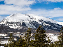 Mountain Scene from Frisco, Colorado Royalty Free Stock Photography