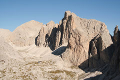 Mountain Scene In The Dolomites Royalty Free Stock Photo