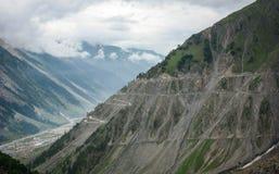 Mountain scene in Manali, India.  Stock Images