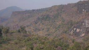 Mountain scene in Mandalay, Myanmar stock video footage