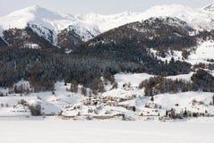 Mountain Scene, Northern Italy Stock Photos