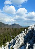Mountain scene during spring, Velebit, Croatia 3 Royalty Free Stock Photos