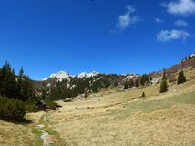 Mountain scene, Velebit, Croatia 2 Stock Photography