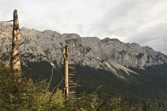 Mountain scenery Royalty Free Stock Images