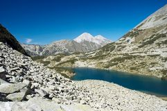 Mountain scenery. From Pirin, Bulgaria Royalty Free Stock Image