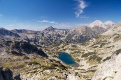 Mountain scenery. From Pirin, Bulgaria Stock Photography