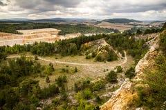 Mountain scenery Royalty Free Stock Photography