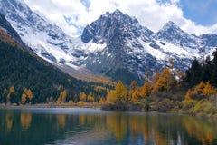 Mountain scenery Stock Photo
